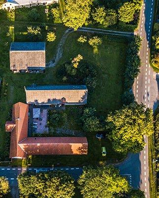 drone foto af ejendom