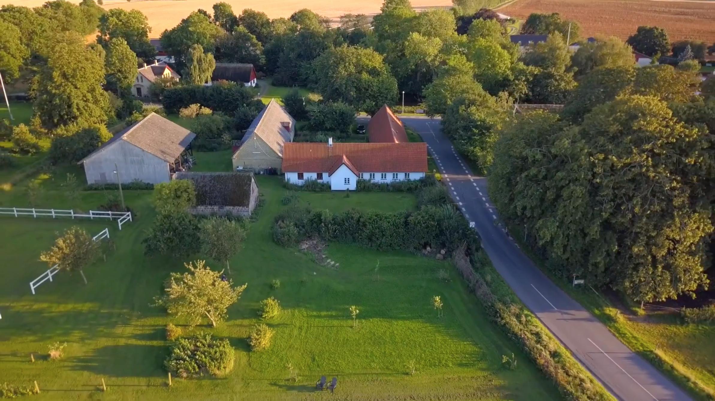 drone video af ejendom