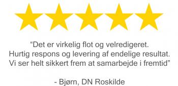 Danmarks naturfredningsforening giver dronemanden 5 stjerner